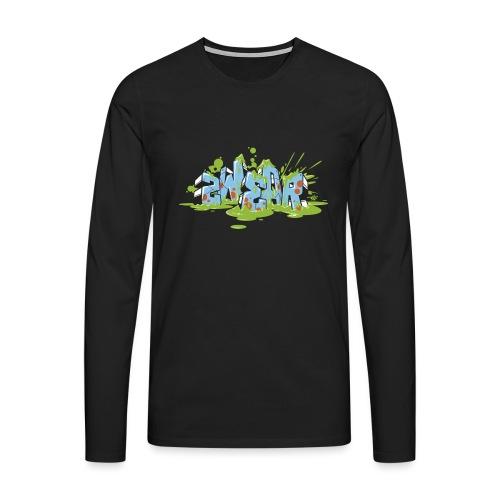 Graffiti Blocks - 2wear Classic's - Herre premium T-shirt med lange ærmer