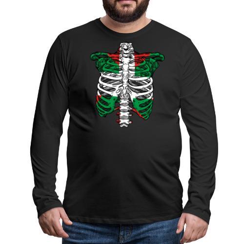 Basqueleton - Camiseta de manga larga premium hombre