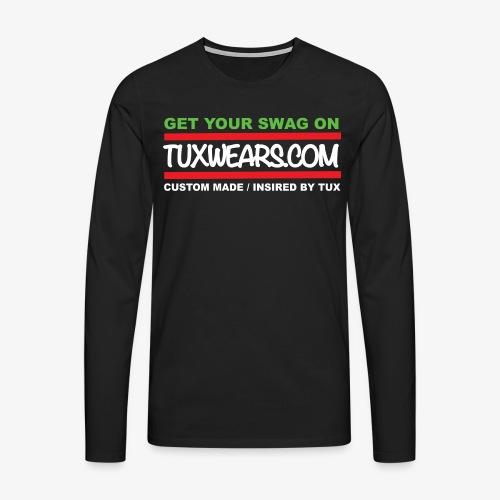 TUXWEARS.COM - Men's Premium Longsleeve Shirt