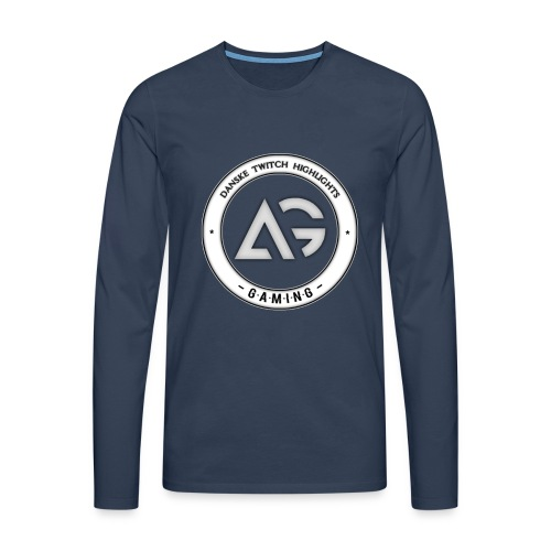 Amdi - Herre premium T-shirt med lange ærmer