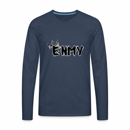 Enmy Grey Sweatshirt - Men's Premium Longsleeve Shirt