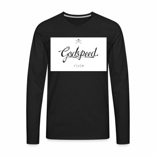 godspeed - Miesten premium pitkähihainen t-paita