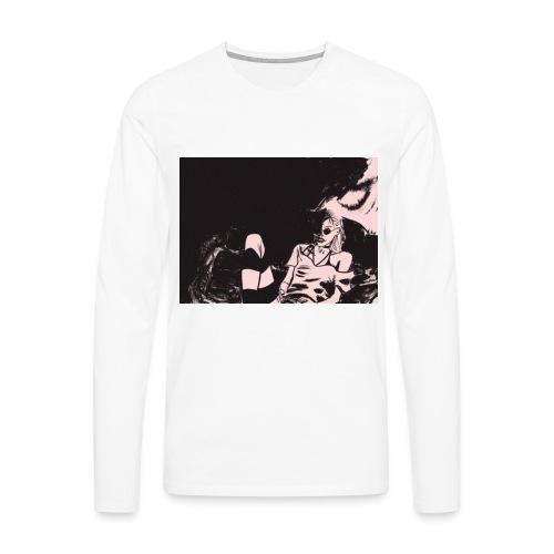 Grimes - Maglietta Premium a manica lunga da uomo