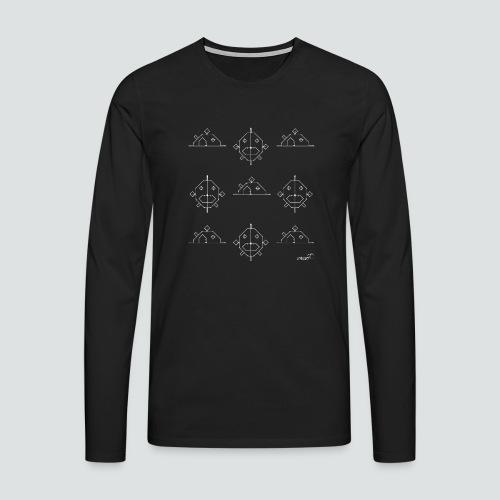 FischHaus 3 png - Männer Premium Langarmshirt
