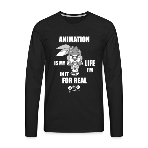 AMB Animation - In It For REAL - Men's Premium Longsleeve Shirt