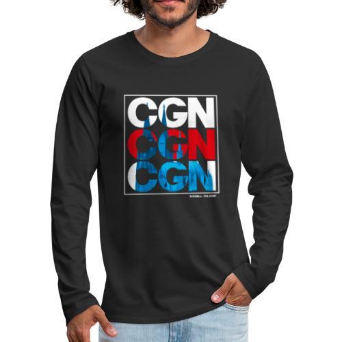 CGN x3 - Männer Premium Langarmshirt