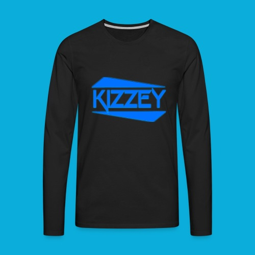Kizzey Clothing Logo - Men's Premium Longsleeve Shirt