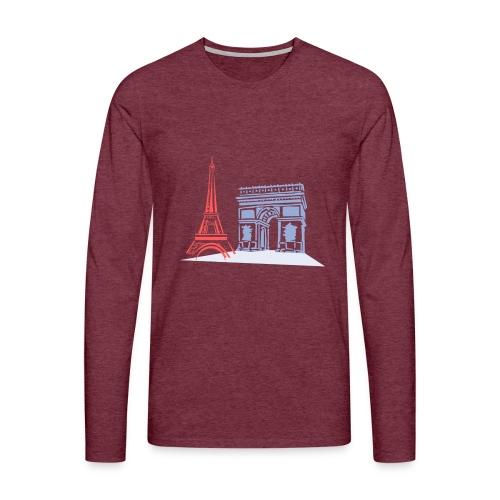 Paris - T-shirt manches longues Premium Homme