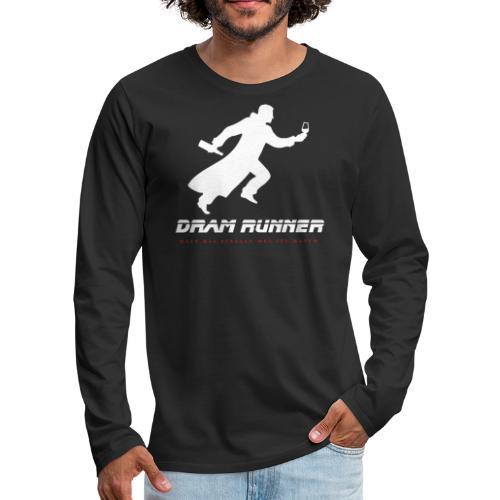 """Malt meets Movie""-Series Part 4: DRAM RUNNER - Männer Premium Langarmshirt"