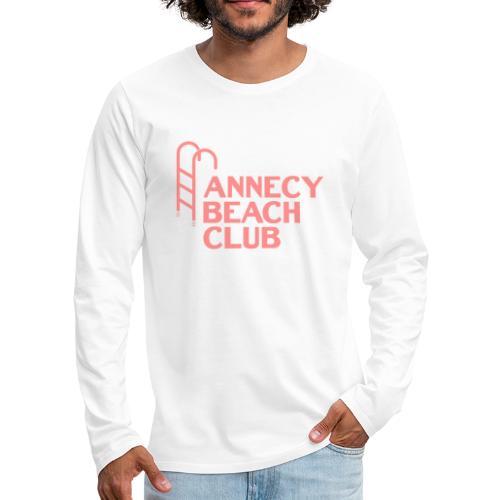 Annecy beach club - natation - T-shirt manches longues Premium Homme