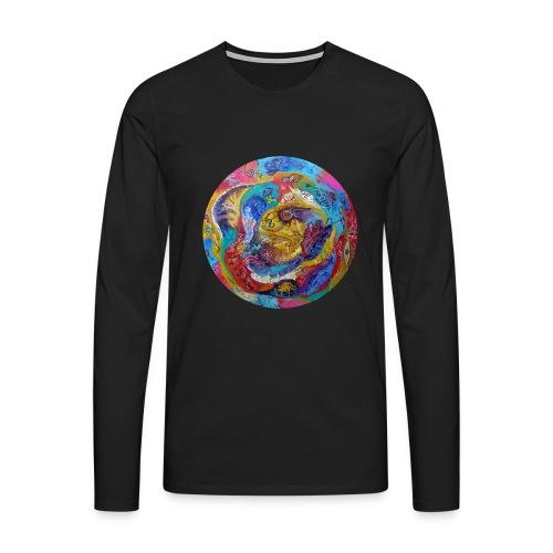 magma grandit B png - T-shirt manches longues Premium Homme