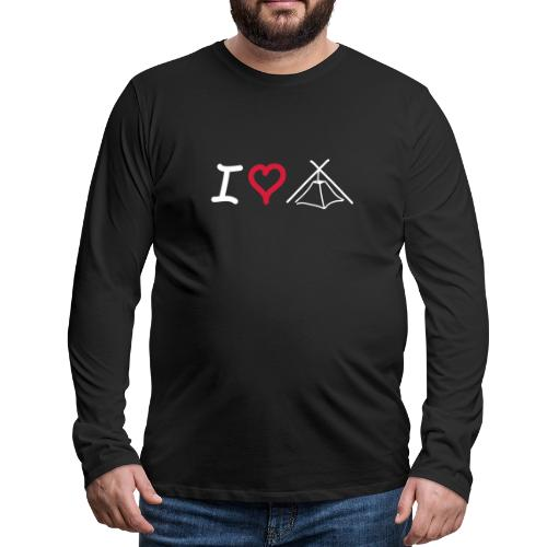 I love Kothe - Männer Premium Langarmshirt