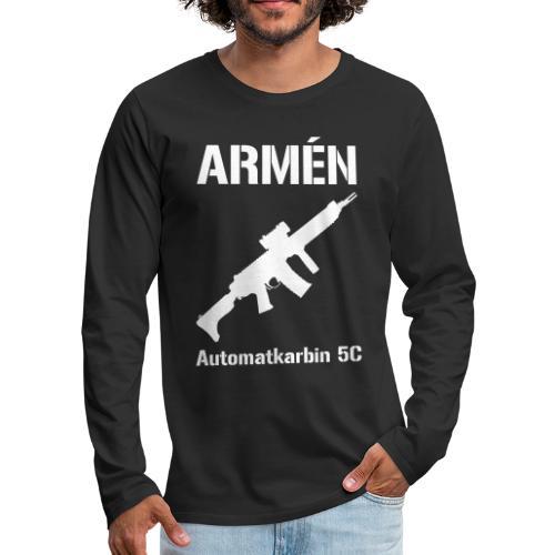 ARMÈN - Ak 5C - Långärmad premium-T-shirt herr