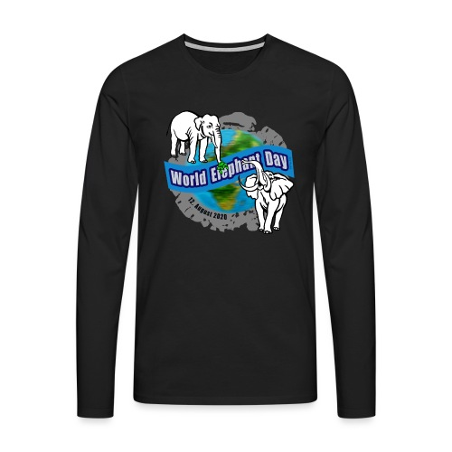 World Elephant Day 2020 - Männer Premium Langarmshirt