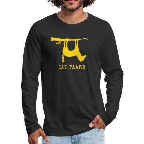 Lui paard 1 - Mannen Premium shirt met lange mouwen