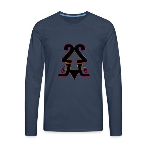 2j_Rainbow - Herre premium T-shirt med lange ærmer