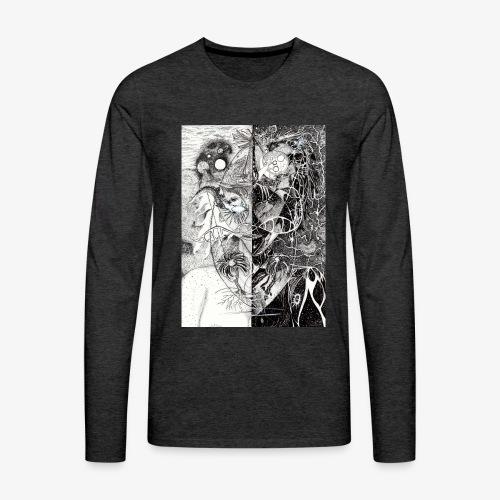 Universe In Us All Original Edition by Rivinoya - Miesten premium pitkähihainen t-paita
