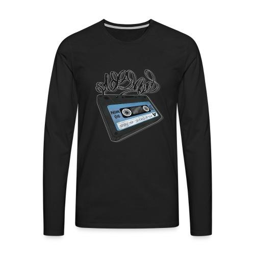 Oldschool Mixtape 705 - Herre premium T-shirt med lange ærmer
