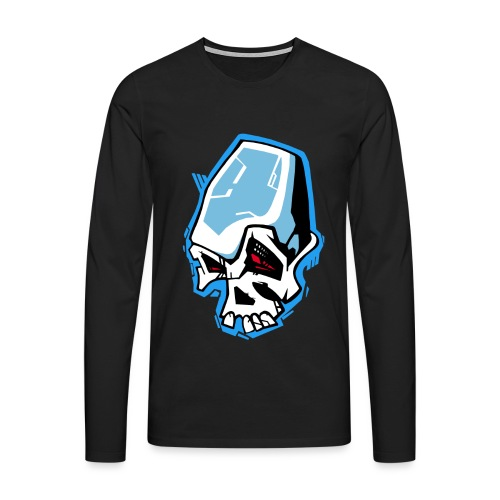 Skull Graffiti - T-shirt manches longues Premium Homme