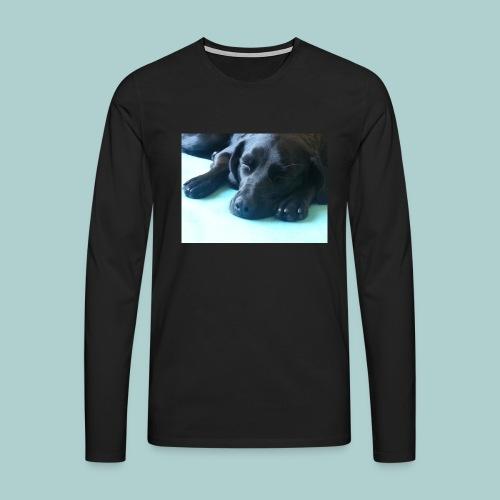 Kaline schläft III - Männer Premium Langarmshirt
