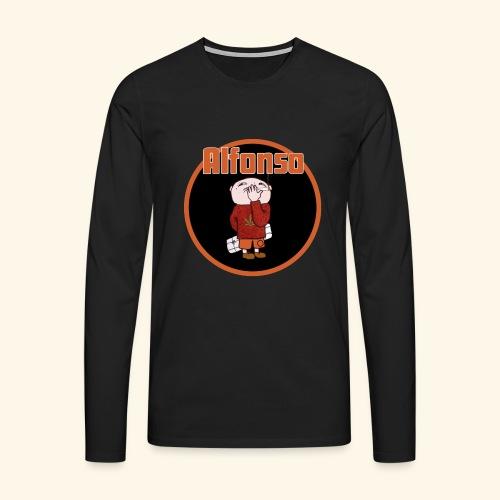Alfonso - Långärmad premium-T-shirt herr