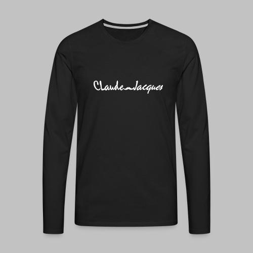 Claude-Jacques Sweater - Men's Premium Longsleeve Shirt