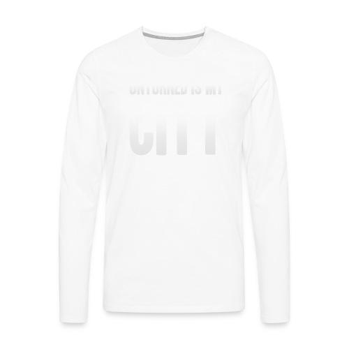 Unturned is my city - Men's Premium Longsleeve Shirt