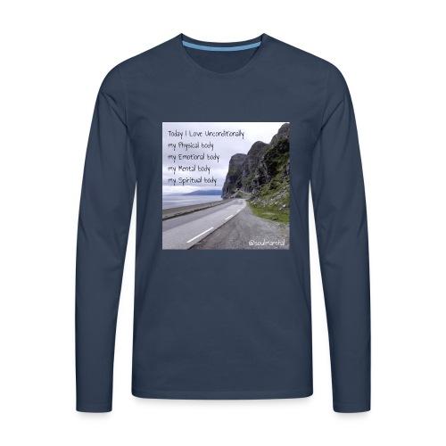 My bodys - Miesten premium pitkähihainen t-paita
