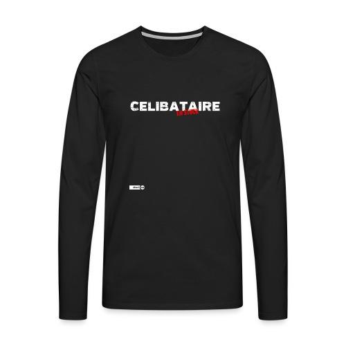 Célibataire en stock - T-shirt manches longues Premium Homme