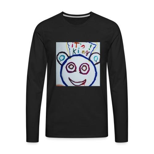 de panda beer - Mannen Premium shirt met lange mouwen