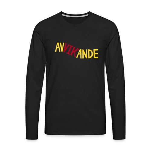 AVVIKANDE - Långärmad premium-T-shirt herr