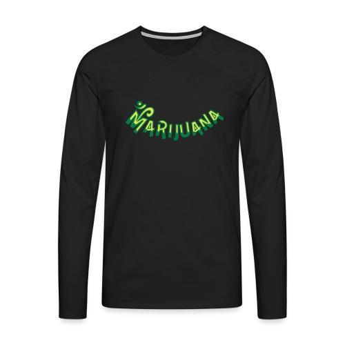 Om Marijuana - Men's Premium Longsleeve Shirt