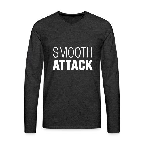 Smooth Attack neg png - Männer Premium Langarmshirt