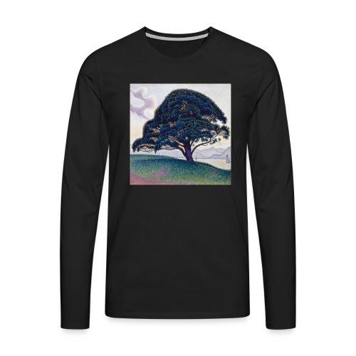 Camiseta el arbol de la suerte - Camiseta de manga larga premium hombre