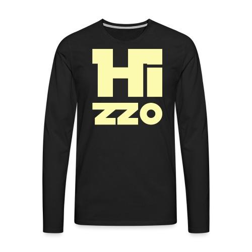 HIZZO_Star_light yellow - Männer Premium Langarmshirt