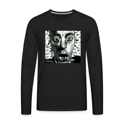 No fear - Maglietta Premium a manica lunga da uomo