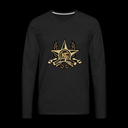 Keppana Gaming - Miesten premium pitkähihainen t-paita