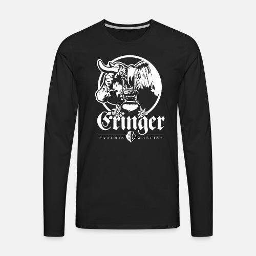 ERINGER – VALAIS / WALLIS - Männer Premium Langarmshirt
