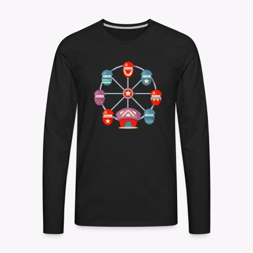 Ferris Wheel - Men's Premium Longsleeve Shirt