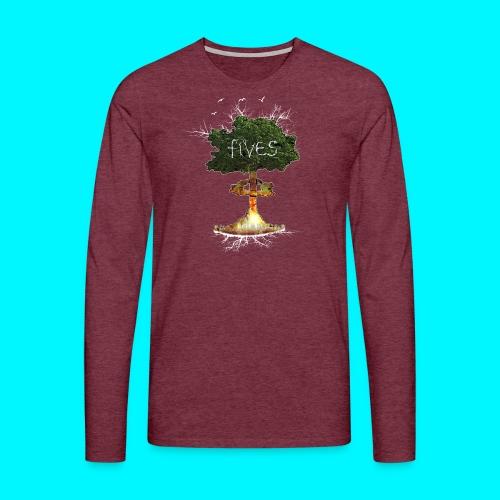 FIVES atomic tree - T-shirt manches longues Premium Homme
