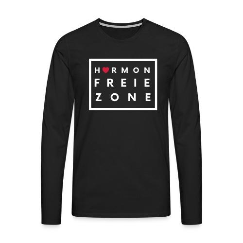Hormonfreie Zone - Männer Premium Langarmshirt