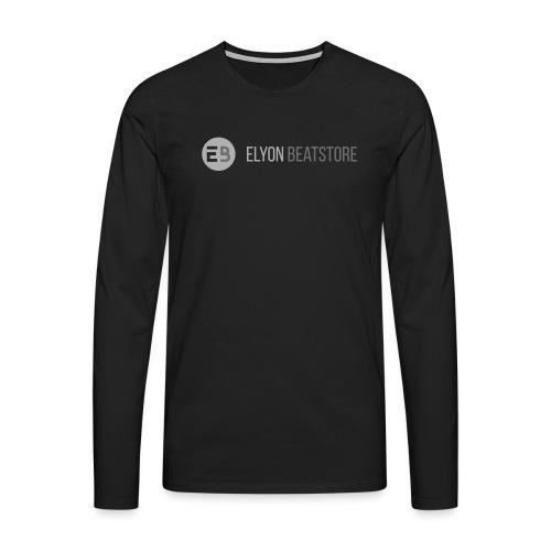 ElyonBeatstore Logo - Mannen Premium shirt met lange mouwen