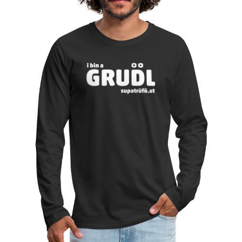 supatrüfö grudl - Männer Premium Langarmshirt