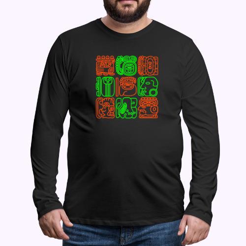 Mayan Bolontiku - Men's Premium Longsleeve Shirt