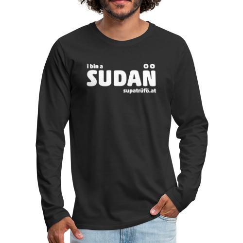 supatrüfö SUDAN - Männer Premium Langarmshirt