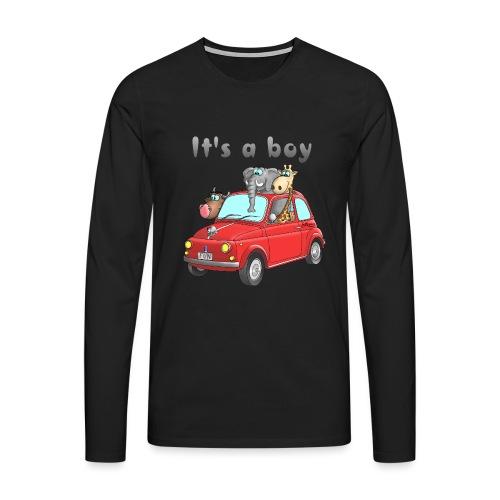 It's a boy - Baby - Cartoon - lustig - Männer Premium Langarmshirt