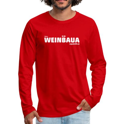 WEINBAUA - Männer Premium Langarmshirt