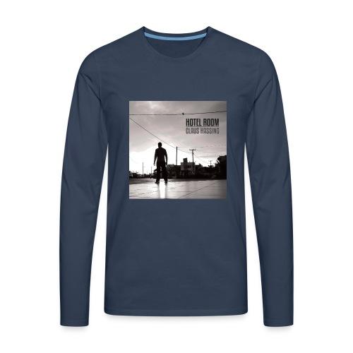 Frontcover 1 hotelroom single 2400x2400 jpeg - Herre premium T-shirt med lange ærmer