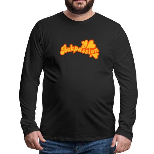 BOKPASSION - Långärmad premium-T-shirt herr