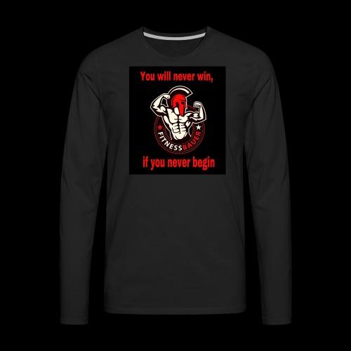 You will never win - Männer Premium Langarmshirt